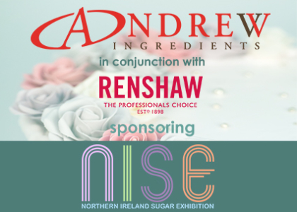 Headline sponsors of NI Sugar Expo - Andrew Ingredients in conjunction with Renshaw