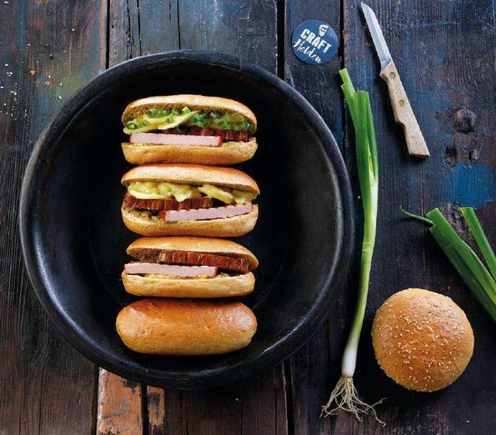 Artisan Malt Hot Dog Buns using IREKS Craft Malt