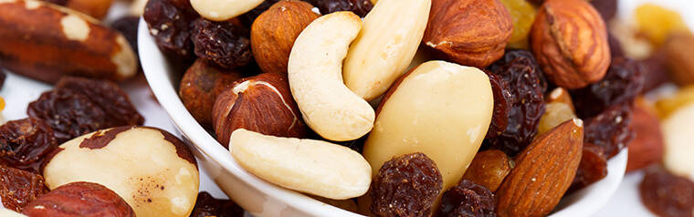 Dried Fruits, Nuts, Seeds & Spices
