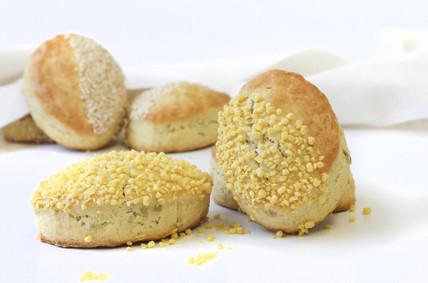 Easter Scones Using Ireks Corn Bread Mix