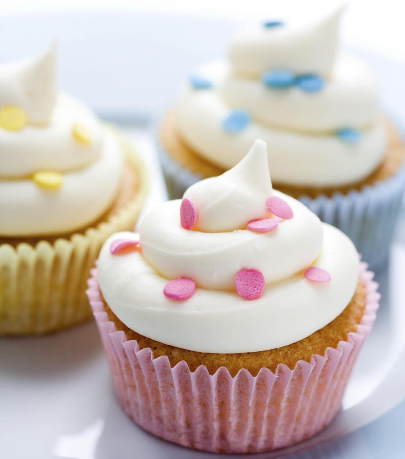 Macphie Reduced Sugar Rainbow Frostings Application Information