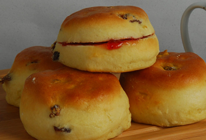 Carrs Scone Mix Make Up Instructions