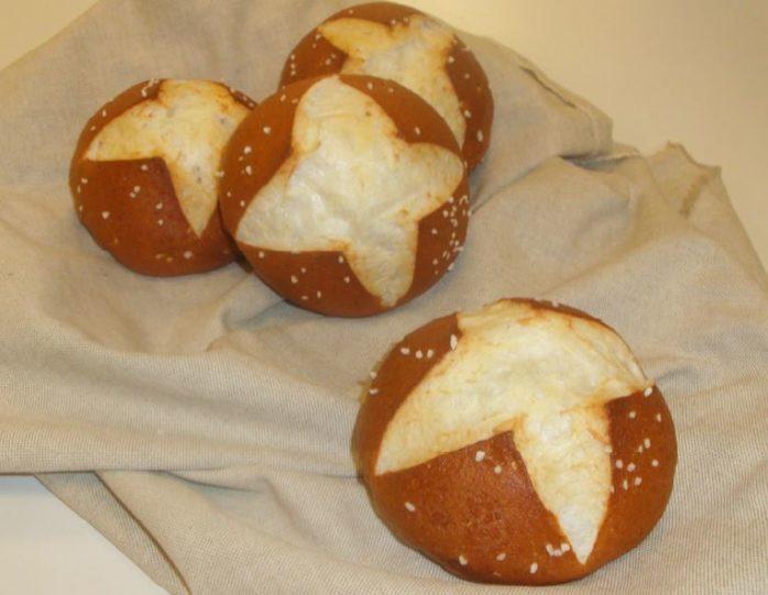 Gluten Free Soft Pretzel Rolls Using IREKS Singluplus Roll CCF