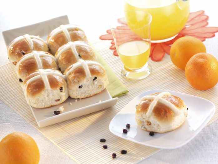 Hot Cross Buns Using IREKS Voltex Bread Improver
