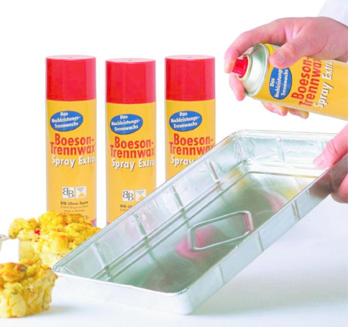 Boeson Trennwax Extra Spray Usage Instructions