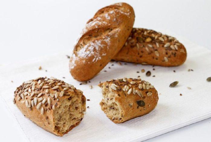 Gluten Free Vitality Seeded Rolls Using IREKS Singluplus Vital