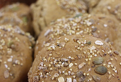 Brown Bread And Rolls